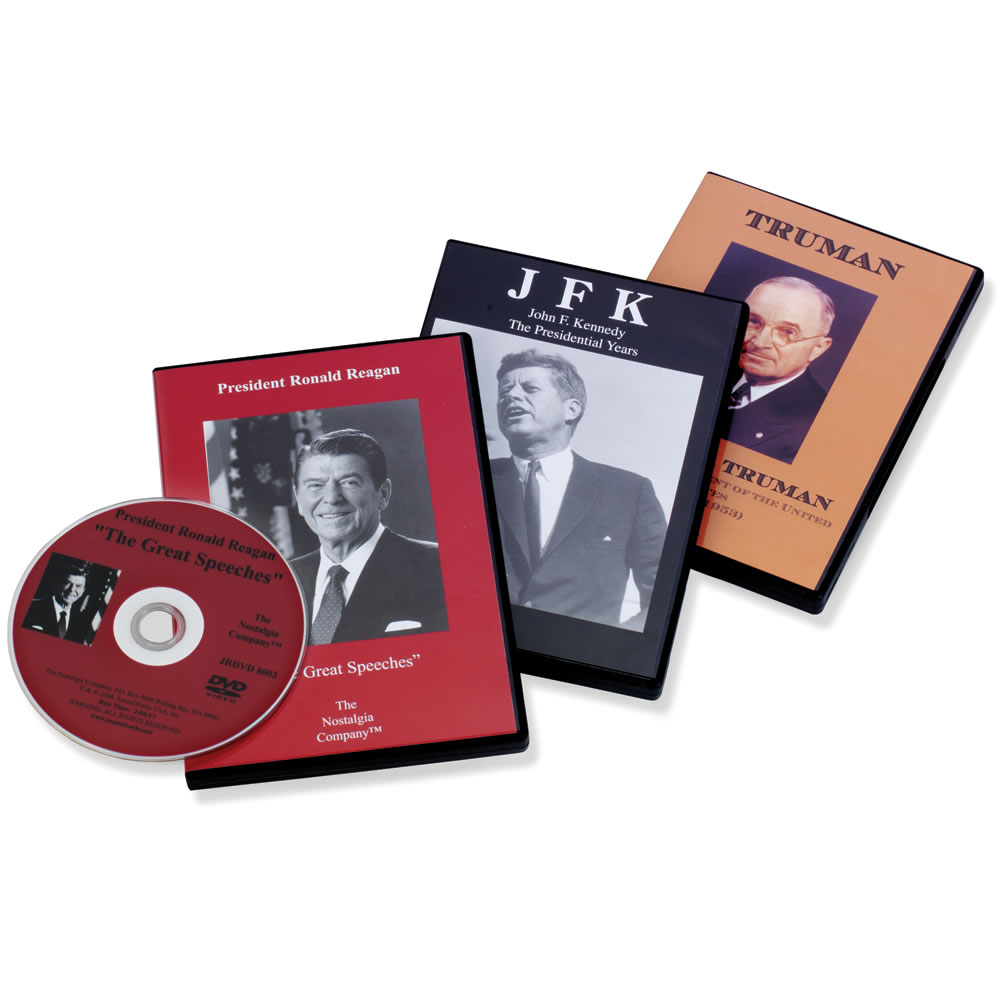 The Greatest Presidential Speeches DVD Set - Hammacher