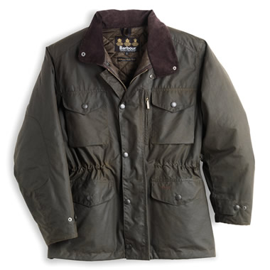 The English Country Waxed Cotton Jacket.