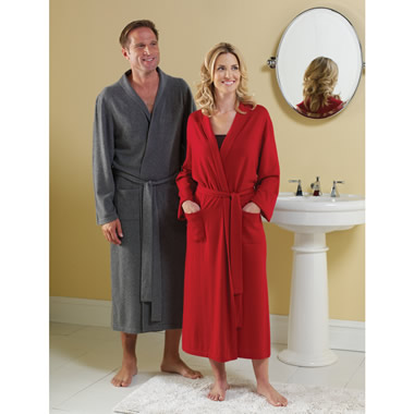 The Cashmere Robe (Men's).