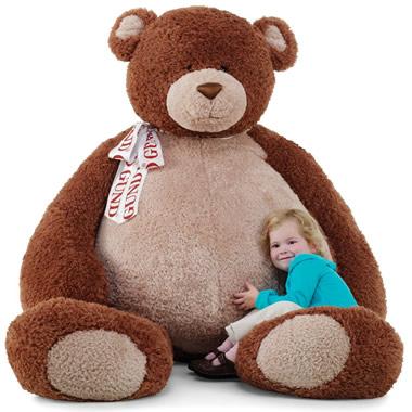 The 6.5 Foot Teddy Bear.