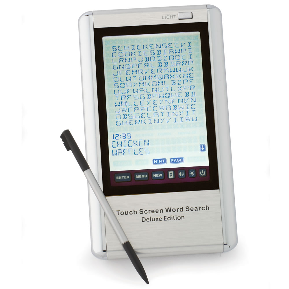 The Electronic Word Search Game Hammacher Schlemmer