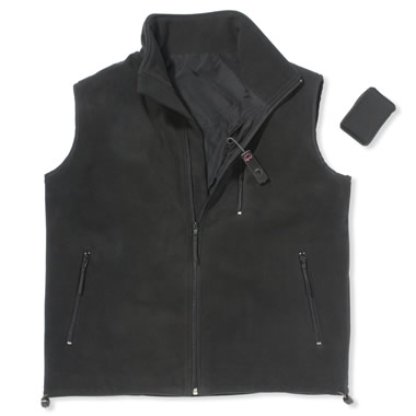 The Carbon Fiber Heated Vest.