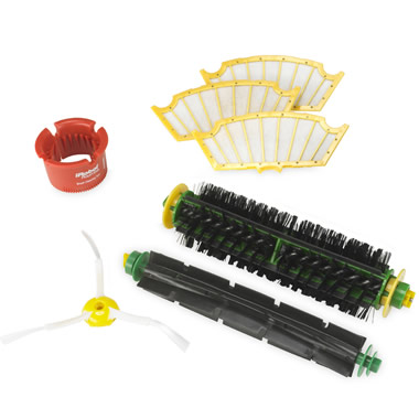 Replacement Brush and Filter Kit.