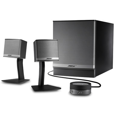 The Bose Computer Speakers System.