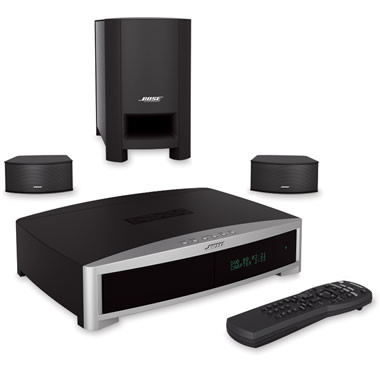 The Discreet Bose 3-2-1 Home Theater System.