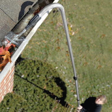 The Extended Reach Gutter Cleaning Wand.