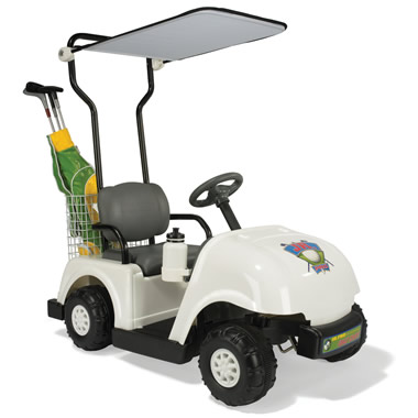 The Children's Electric Golf Cart.