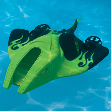 The Remote Controlled Manta Ray.