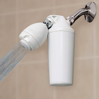 The Chlorine Eliminating Shower Filter.