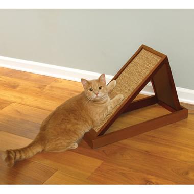 The Adjustable Feline Scratching Platform.
