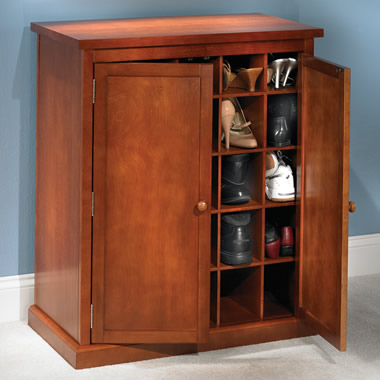 The 25 Pair Shoe Armoire.