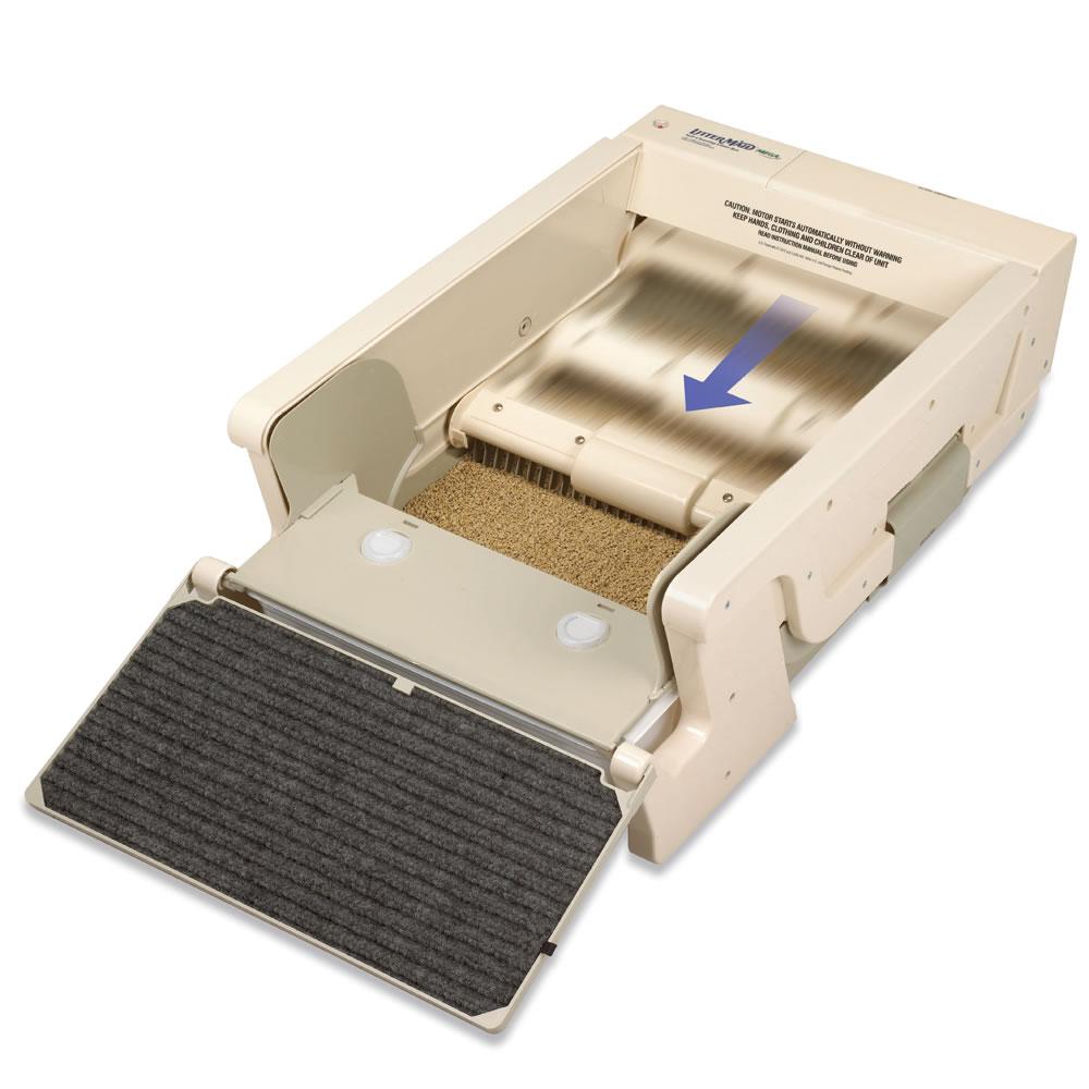 The Best Self Cleaning Litter Box Hammacher Schlemmer