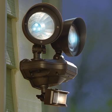 The 480 Lumens Solar Floodlights.