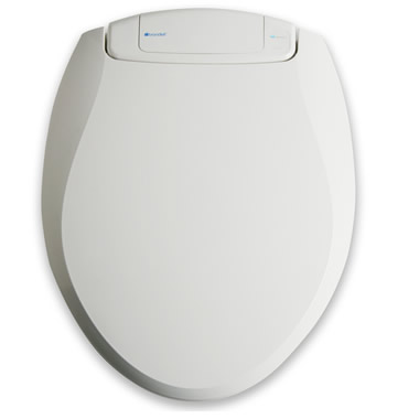 The Automatic Deodorizing Toilet Seat (Round).