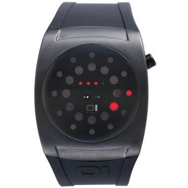 The Dots And Dashes LED Watch.