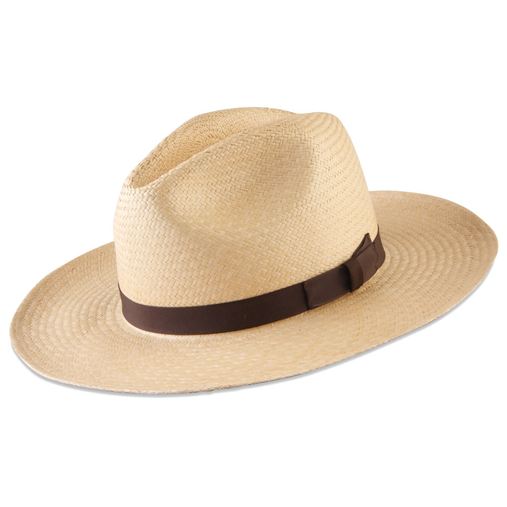f8dc62c584d41a The Packable Panama Hat - Hammacher Schlemmer