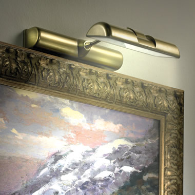 The Natural Daylight Cordless Gallery Lamp.