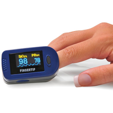 The Fingertip Pulse Oximeter.