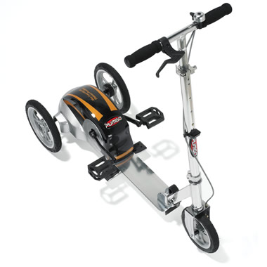The Stepper Powered Scooter