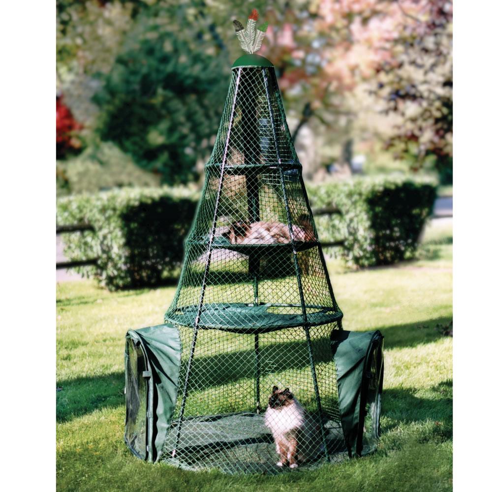 outdoor cat playpen uk