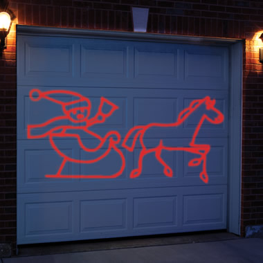 The Animated Holiday Scene Laser Projector.