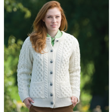 The Authentic Aran Cardigan.