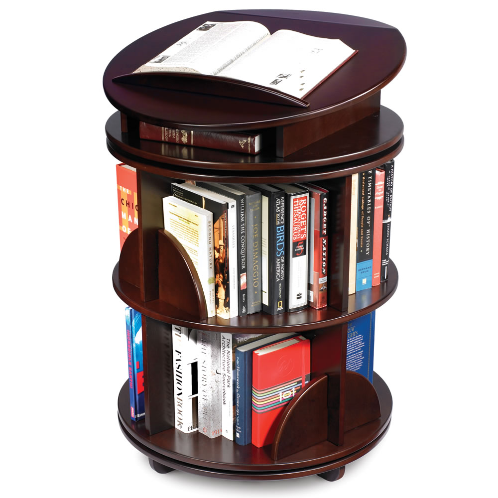 The Rotating Bookcase .