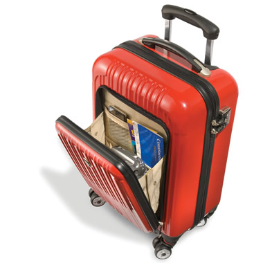 The Only Exterior Pocket Impervious Carry On