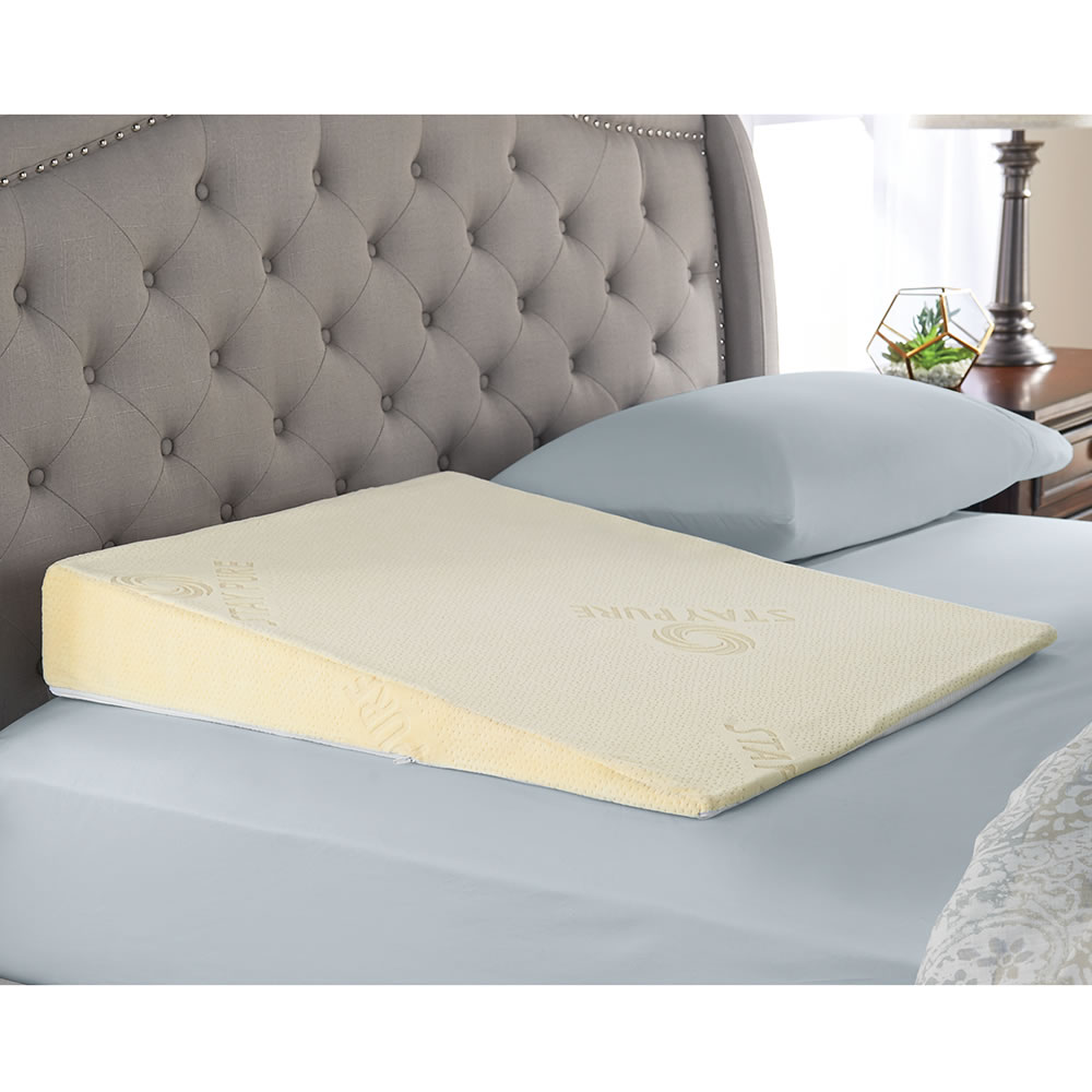 elegant comfort supports in foam get rest bed pillows peace memory s pillow good apnea wedge adds pain joint com dp a night for amazon reflux back relief acid