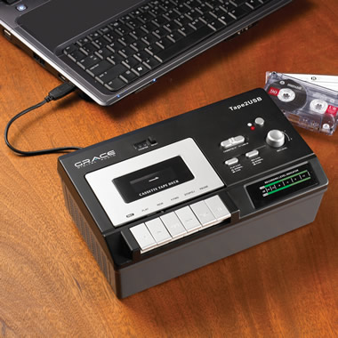 The Cassette To MP3 Converter.