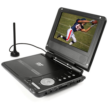 The First Portable HDTV And DVD Player.