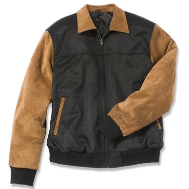 The Alumnis Letterman's Jacket.