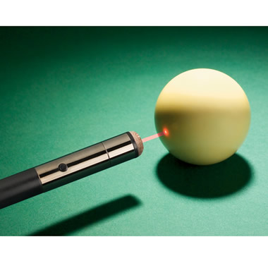 The Laser Guided Pool Cue