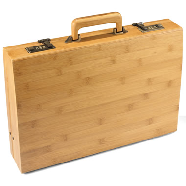 The Bamboo Briefcase.