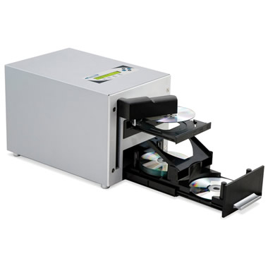 The Automatic 25 DVD Duplicator.