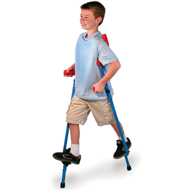 The Easy Balance Steel Stilts.