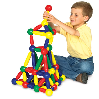 The Award Winning Magnetic Building Set.