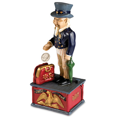 The Classic Uncle Sam Bank