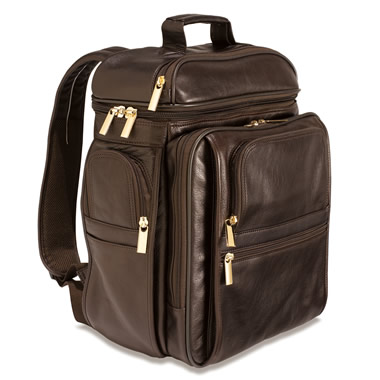 The Executive's Bison Backpack.