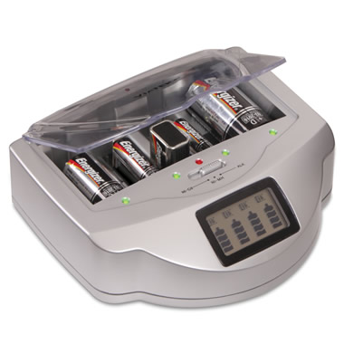 The Alkaline Battery Charger.