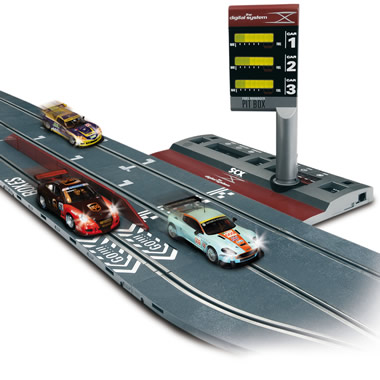 The Realistic Digital Slot Car Raceway