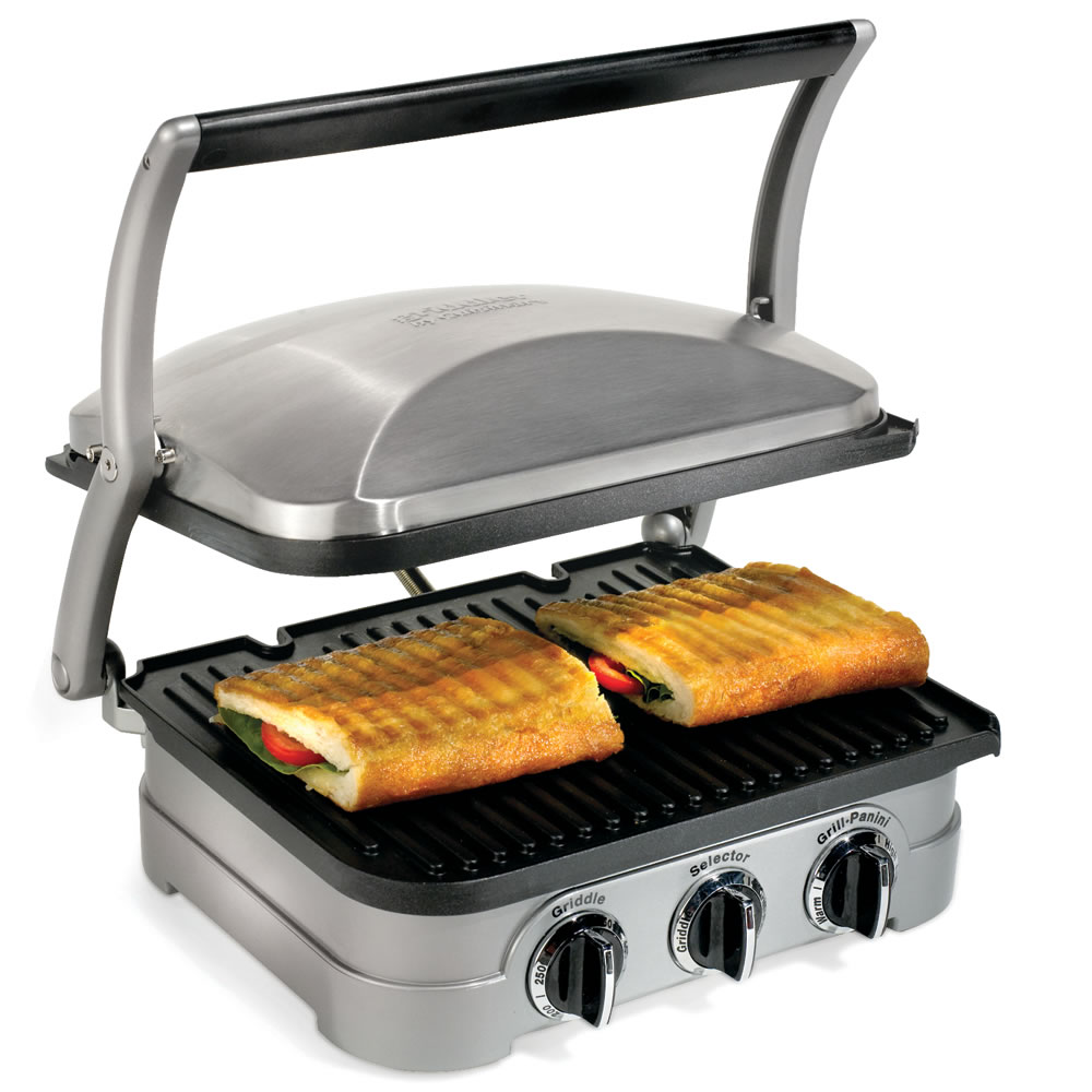 how to clean a professional panini grill