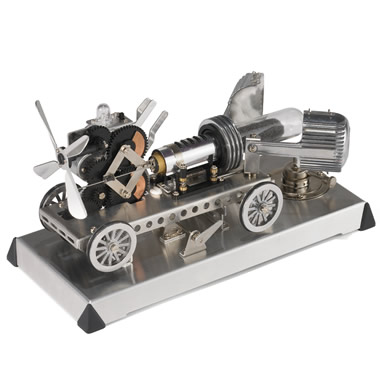 The Stirling Engine Locomobile
