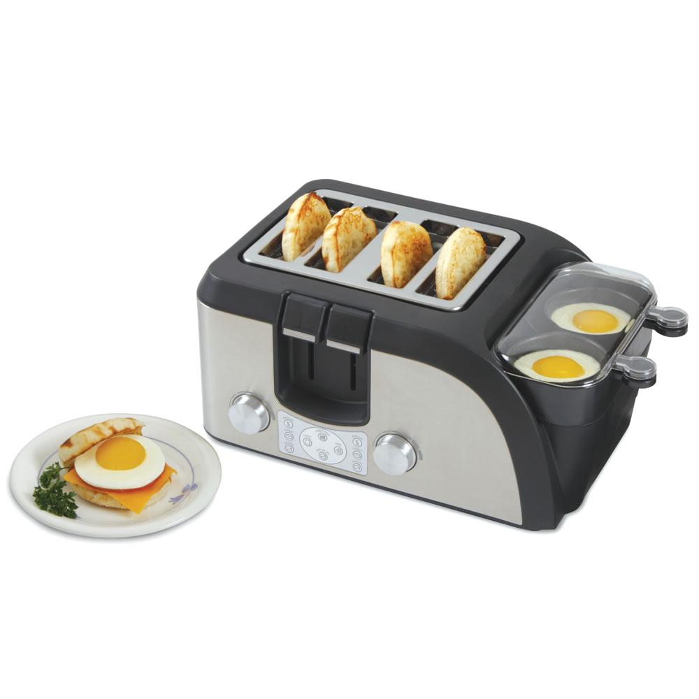 The Breakfast Sandwich Maker - Hammacher Schlemmer