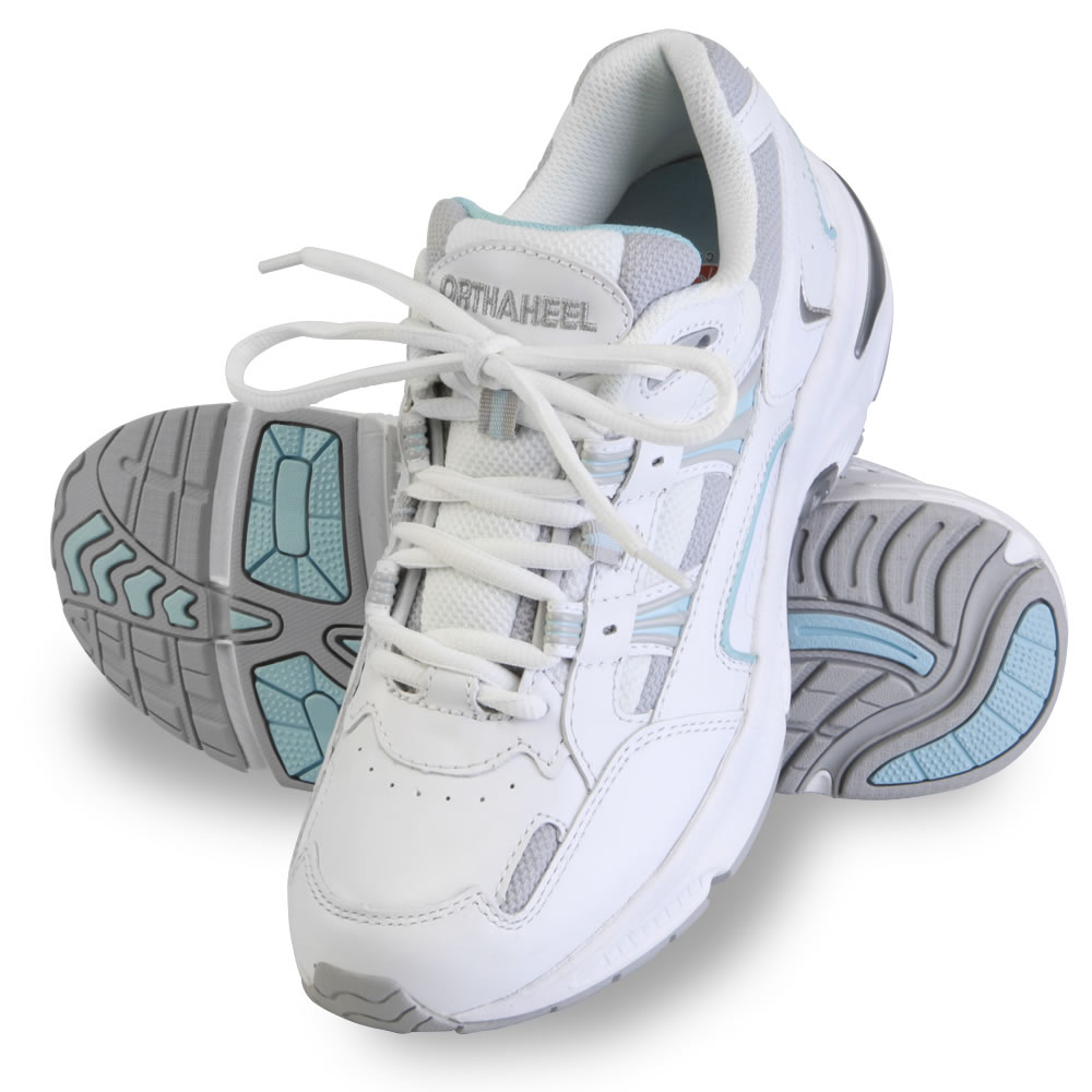 the lady's plantar fasciitis walking sport shoes - hammacher schlemmer