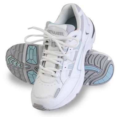 The Lady's Plantar Fasciitis Walking Sport Shoes - Front of shoe