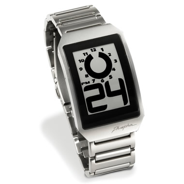 The Electronic Ink Watch.