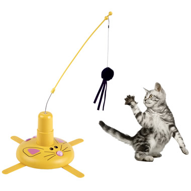 The Cavorting Cat Toy.
