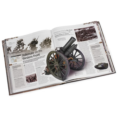The Definitive Visual History Of War.
