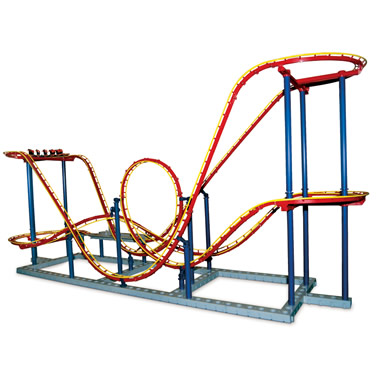 The Authentic 1:48 Scale Roller Coaster.